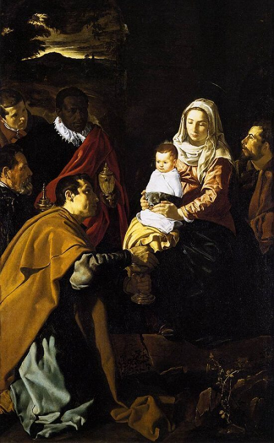 The Adoration of the Magi, 1619