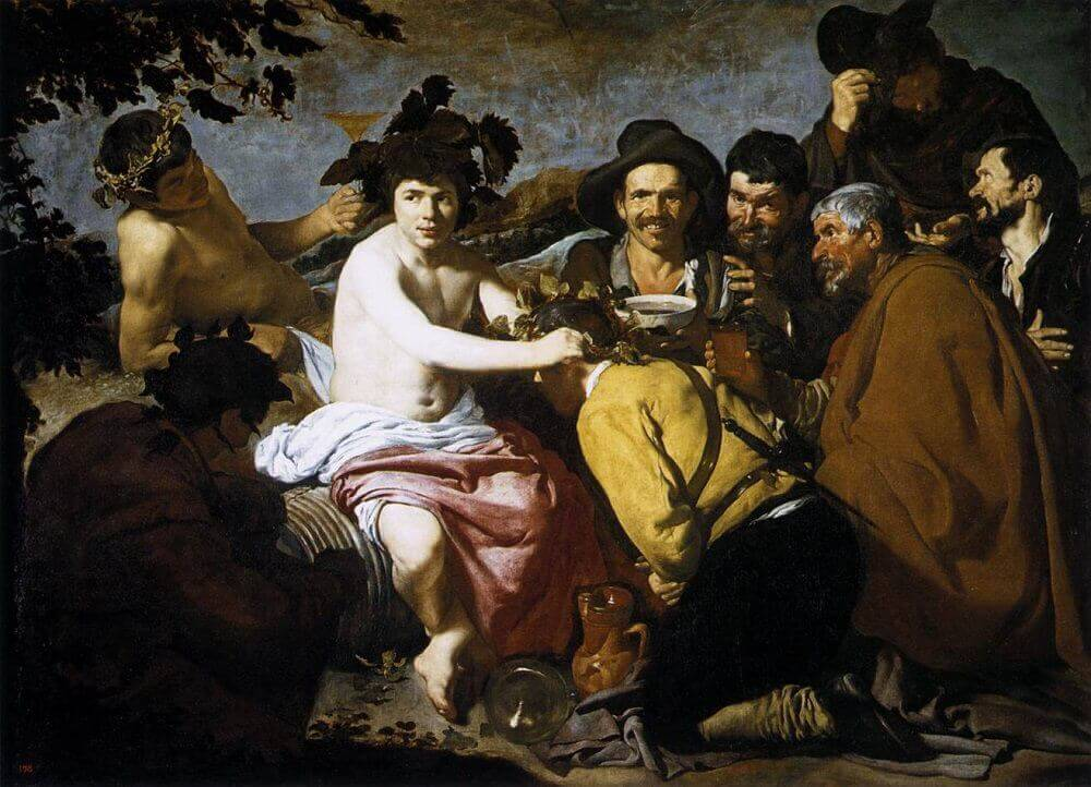 The Triumph of Bacchus, 1629 by Diego Velazquez